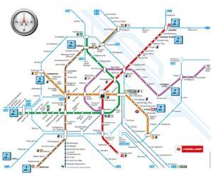 Plán metra Vídeň
