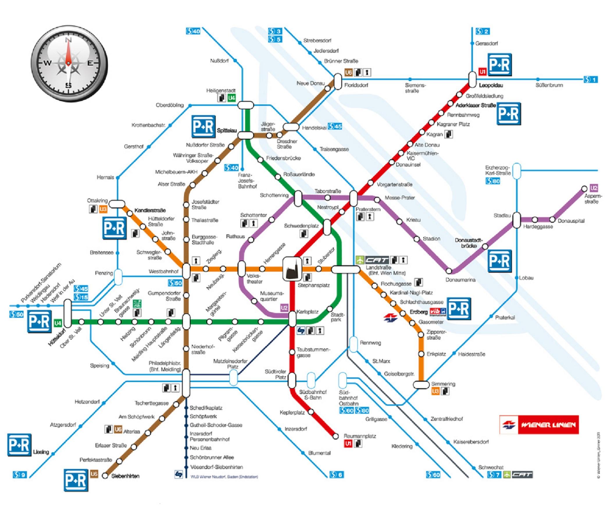 Mapa Mapa Videnskeho Metra